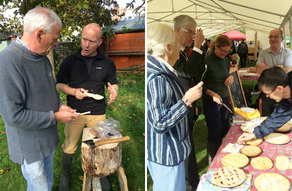Woodwork and Pie Tasting Competition